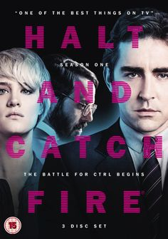 UK Blue-Ray -::- Halt and Catch Fire, season 1 -::- Pretty cool show chronicling the travails of an early PC start-up