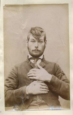 Victorian hipster? 19th Century Mug Shots from New Zealand | The Museum of Ridiculously Interesting Things