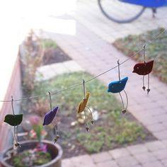 Spring Felt Birds