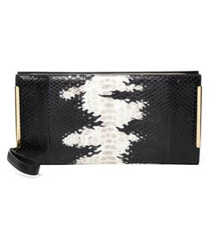 #ShopBAZAAR Fall Bag Guide: Printed Pouch - Salvatore Ferragamo Sam Clutch Degrade