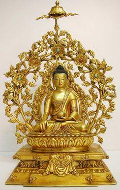 18'' Shakya Muni Buddha Statue