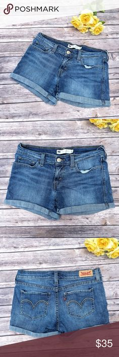 Levi's Perfectly Adorable Jean Shorts  ★ NWOT, perfect condition.  ★ These Levi's jean shorts are too cute and perfect for spring, summer, and festival season! Get them now!  ★ NO TRADES!  ★ NO MODELING!  ★ YES REASONABLE OFFERS! ✅ ★ Measurements available by request and as soon as possible.  Levi's Shorts Jean Shorts