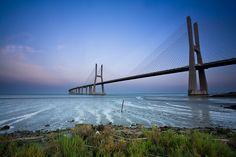 Going South, Vasco da Gama Bridge, Lisbon, Portugal