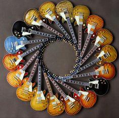 Guitar Painting, Guitar Art, Music Guitar, Cool Guitar, Jazz Guitar, Les Paul Guitars, Guitar Collection, Gibson Guitars, Fender Guitars