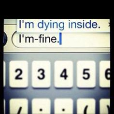 That's depressing
