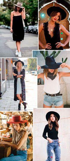 ddb9fb1714197 36 melhores imagens de look com chapéu. em 2019