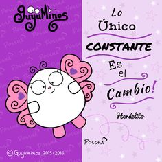 Curioso!!! :) The only thing that is constant is change - Heraclitus #heráclito   #cambio   #guyuminos   #frasescelebres   #gif