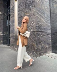 Modest Fashion Hijab, Modern Hijab Fashion, Casual Hijab Outfit, Hijab Chic, Muslim Fashion, Modest Outfits, Simple Outfits, Girl Outfits, Fashion Outfits