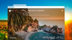 Get MyStart and start enjoying beautiful wallpaper images with every New Tab!