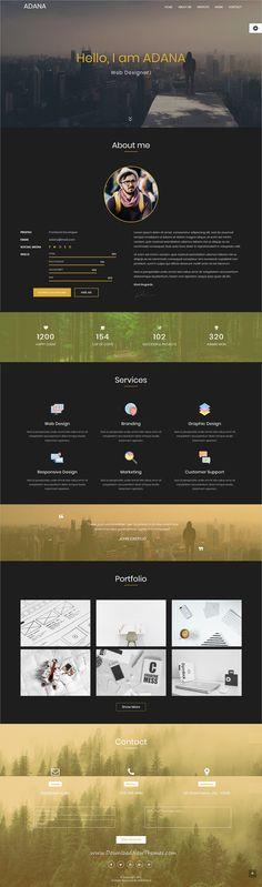 Mirakof - Personal Portfolio Template Personal portfolio - personal website resume