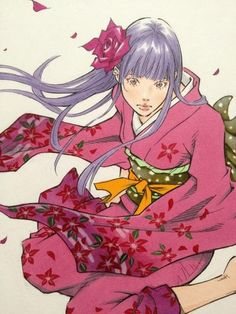 Twitter @#EISAKUSAKU / 着物少女 #Sketch