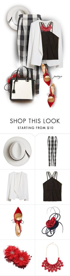 """Vital Signs"" by rockreborn ❤ liked on Polyvore featuring Calypso Private Label, sass & bide, MANGO, Hollister Co., Christian Louboutin, Scala, Benetton, polyvorecommunity, polyvoreeditorial and stylingideas"
