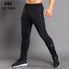 Summer Breathable Long Pants Running Basketball Sweatpants Elastic Tights Gym Fitness Workout Male Jogger Crazy Price Sports & Entertainment