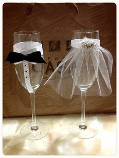 My wedding glasses