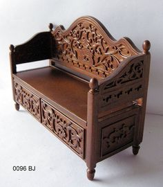 0096 BJ by Ken@JBM, via Flickr ... 1:12 Scale Museum quality miniature furniture by JBM Miniatures Designed by John Baker ... English cabinetmaker and miniature artisan