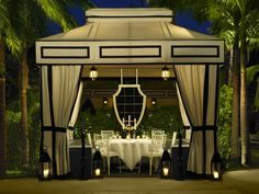 Private Dining Cabana at the Viceroy Santa Monica
