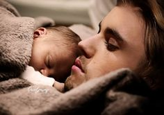 When we'll have a family picture with my baby and justin