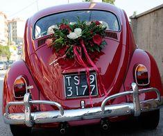 Вдохновение: как украсить свадебный кортеж