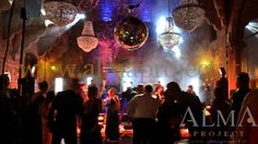 ALMA PROJECT @ Vincigliata - Lighting - Courtyard - Mirror Ball - Moving Heads - Party - 3