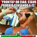 """Oh ciao, stavo proprio pensando a te"""" :D (www.it) Woody Woodpecker, Sarcasm Humor, Humor Humour, Funny Times, Adult Humor, Vignettes, Best Quotes, Haha, Funny Pictures"""