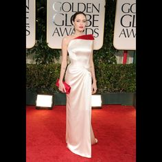 Fabulous dress, Jolie, Golden Globe 2012