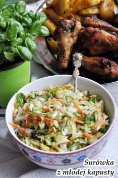 Przepisy na surówki do obiadu - Damsko-męskie spojrzenie na kuchnię Meat, Chicken, Recipes, Food, Side Dishes, Recipies, Essen, Meals, Ripped Recipes