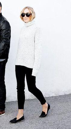 8 Exquisite Cool Ideas: Urban Fashion Streetwear Women urban fashion plus size long sleeve.Urban Fashion Plus Size Long Sleeve urban wear swag catalog. Minimal Fashion, Urban Fashion, Fashion Black, Estilo Lady Like, Black And White Outfit, Moda Fashion, Womens Fashion, Trendy Fashion, Look Legging