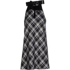 Maison Margiela Short Dress ($300) ❤ liked on Polyvore featuring dresses, black, sleeveless dress, sleeveless turtleneck, plaid flannel dress, tent dress and swing dress