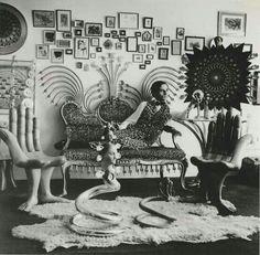 Surrealist designer Pedro #Friedeberg