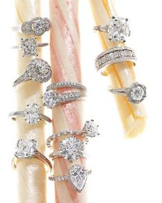 antique rings... my favorite is by far the upside down tear drop... oooh!! beautiful and so so timeless!!