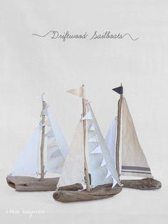 Barche a vela Driftwood fai da te