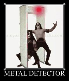 """Massive Dump Of Metal Memes For The Rockers - Funny memes that """"GET IT"""" and want you to too. Get the latest funniest memes and keep up what is going on in the meme-o-sphere. Memes Humor, Top Memes, Funny Memes, Hilarious, Jokes, It's Funny, Funny Stuff, Black Metal, Metal Detector"""