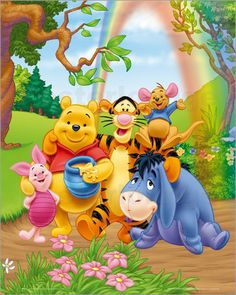 I Love Winnie the Pooh and Tigger too! Oh bother, TTFN, the Hundred Acre Woods! Even Eeyore makes me smile!
