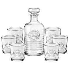 BORMIOLI ROCCO Service à Whisky Officina - 7 pièces