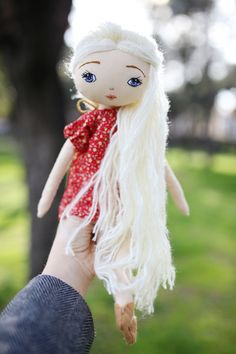 #luciasoftdolls Beautiful handmade doll