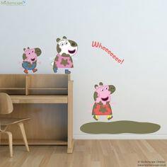 Peppa And Friends Muddy Puddles Wall Sticker Part 98