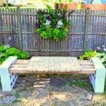 Best Cinder Block Garden Bench