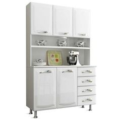 Armário de Cozinha Premium Itatiaia I3G4-120TL Branco