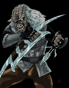 This is number 78 on the Eddie idea list for a group I have recently joined. It is Eddie as a klingon. [link] A Good Day to Die Star Trek Rpg, Star Trek Klingon, Star Trek Starships, Klingon Empire, Star Trek Into Darkness, Robot Concept Art, Iron Maiden, Rock N Roll, Science Fiction