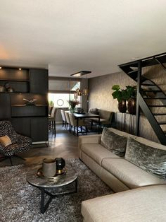 Interior Design Living Room, Living Room Designs, Living Room Decor, Living Room Inspiration, Luxury Living, Home And Living, New Homes, House Design, House Styles