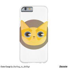 Cute Corgi Barely There iPhone 6 Case