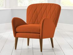 Toby Accent Chair - This exuberant upholstered chair will make a fantastic feature piece and add character to any room of the home - by www.livingitup.co.uk