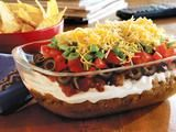 7 layer taco dip with meat... must try!
