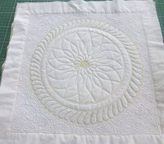 Westalee Ruler Foot Online Classes Gallery...I wonder if just using fleece as a quilt would work.
