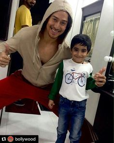 #Repost @BOLLYWOOD  Adorable!! Tiger Shroff with Emraan's son Ayaan Hashmi. Apparently his a big fan of Tiger. @BOLLYWOOD  . . #Instabollywood #bollywood #india #indian #desi #mumbai #delhi #noida #gurgaon #bangalore #benguluru #jaipur #ahemdabad #surat #pune #indore #tigershroff #emraanhashmi #ayaanhashmi @BOLLYWOOD  @BOLLYWOOD  @BOLLYWOOD  . For more follow #BollywoodScope and visit http://bit.ly/1pb34Kz