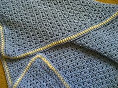 Ravelry: Easy Baby Blanket pattern by Lisa Collins