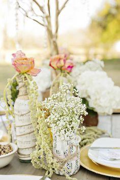 Rustic & Shabby Chic Valentines Wedding Inspiration  Photographer: Andie Freeman Photography