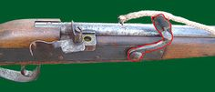 the matchlock, ignited from a smouldering lenght of rope becums the standard form of musket