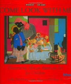 A great resource for African American art and artist study.  This book is one of many in the Come Look with Me series.