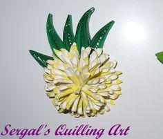 Sergal's quilling art